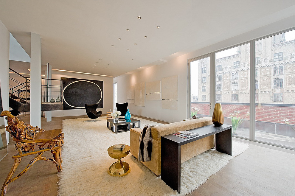 555 West 23rd Street for Modern Living Room with Urban