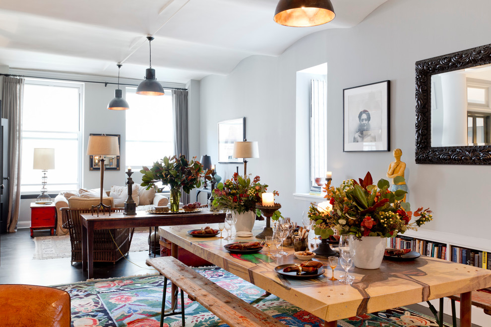 Aaa Salvage for Eclectic Dining Room with My Houzz