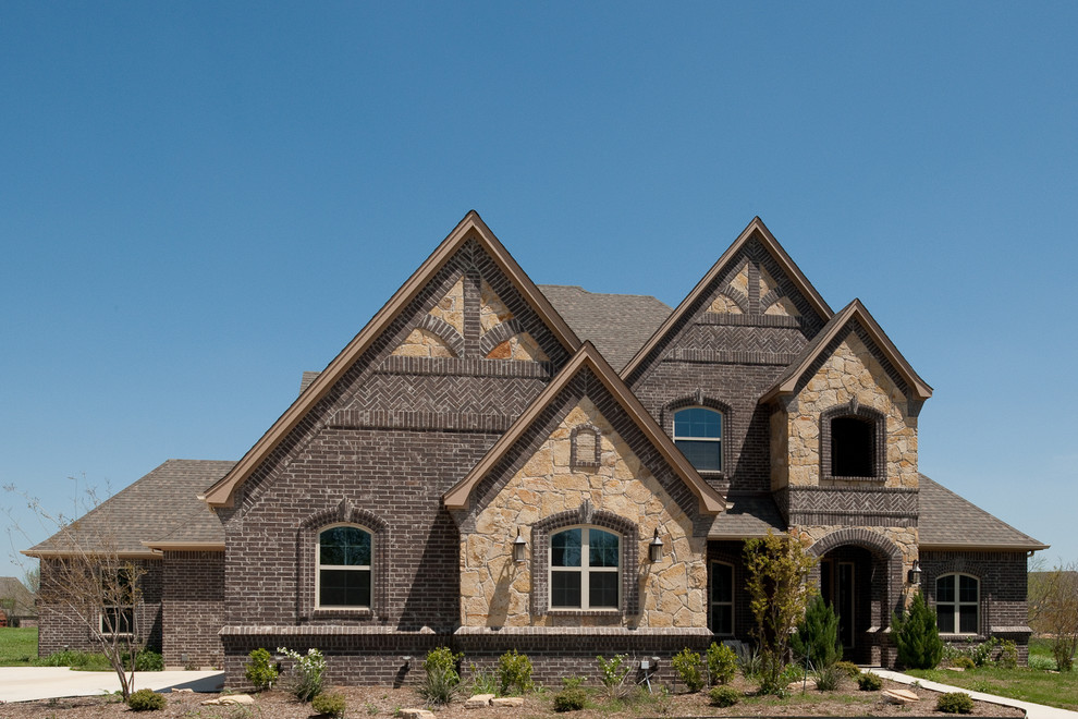 Acme Brick Colors for Traditional Exterior with Mortar