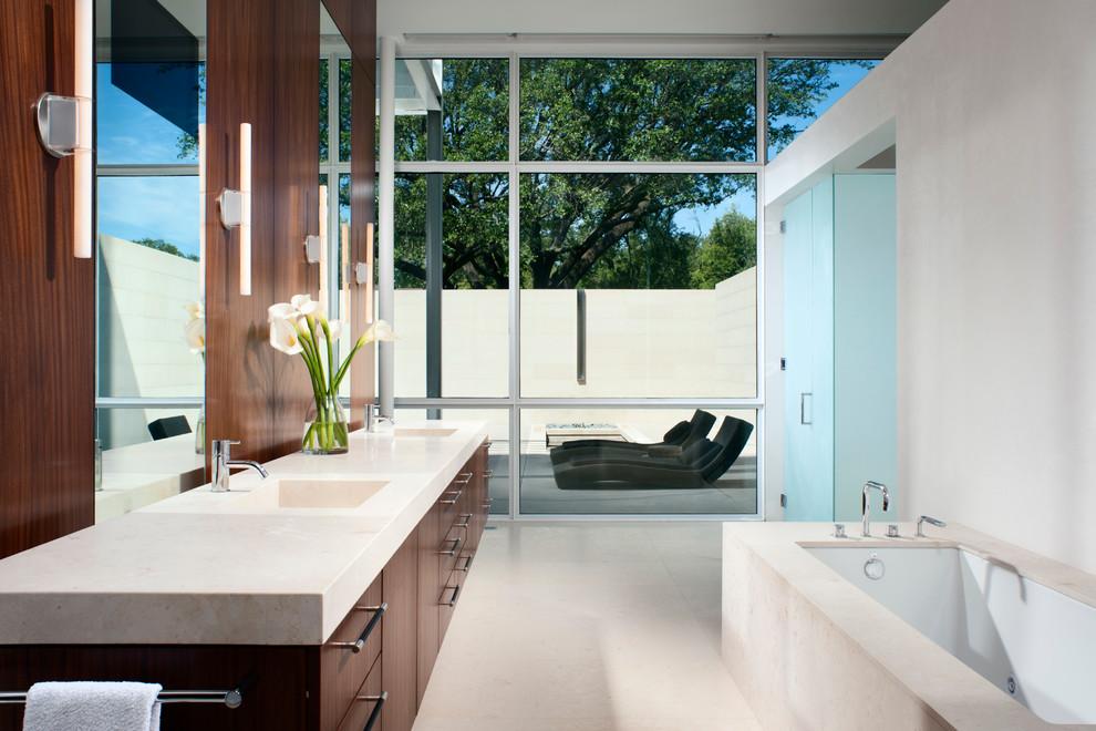 Ada Bathroom Layout for Contemporary Bathroom with High Ceilings