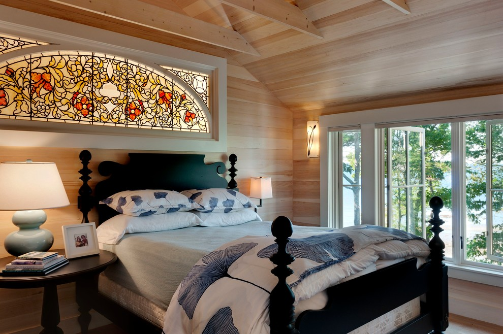 Alltex for Beach Style Bedroom with Cottage