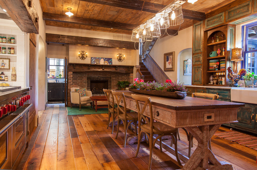 American Southwest Mortgage for Rustic Kitchen with Rustic
