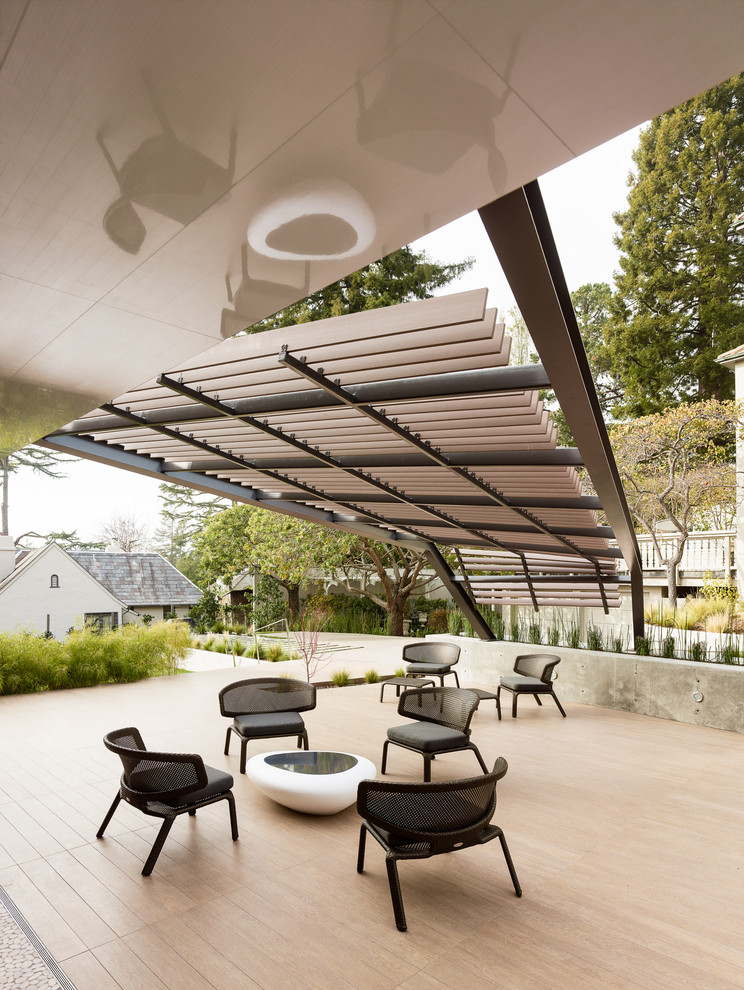 Arbors at Berkeley for Contemporary Patio with Outdoor Fireplace