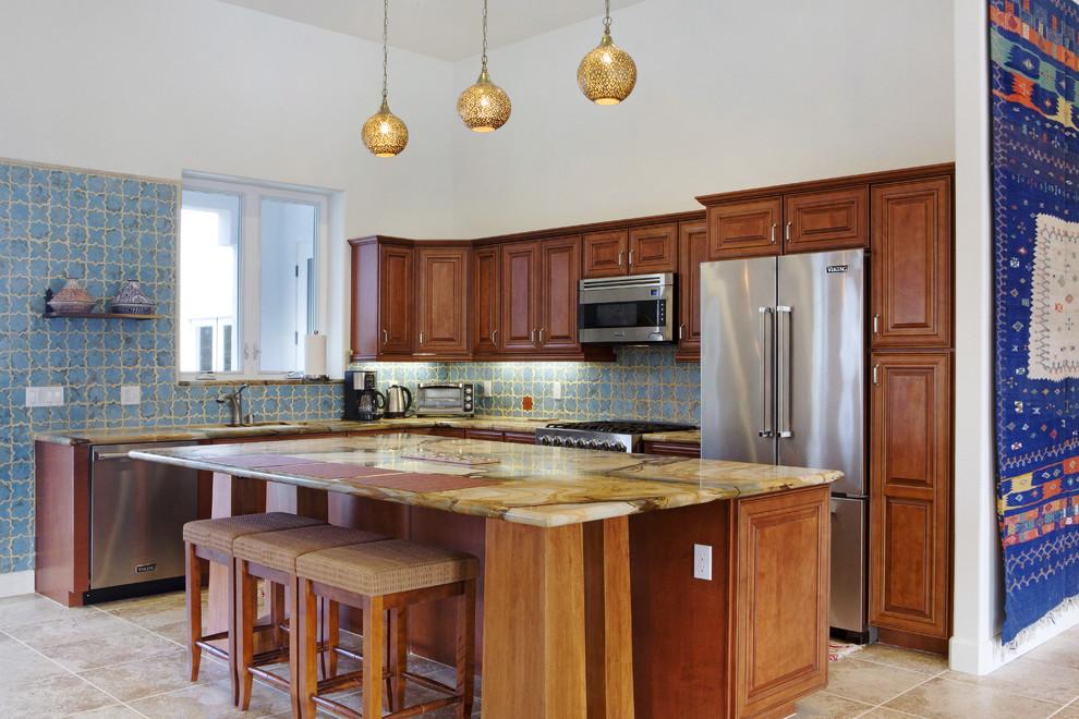 Arto Brick for Mediterranean Kitchen with California Desert