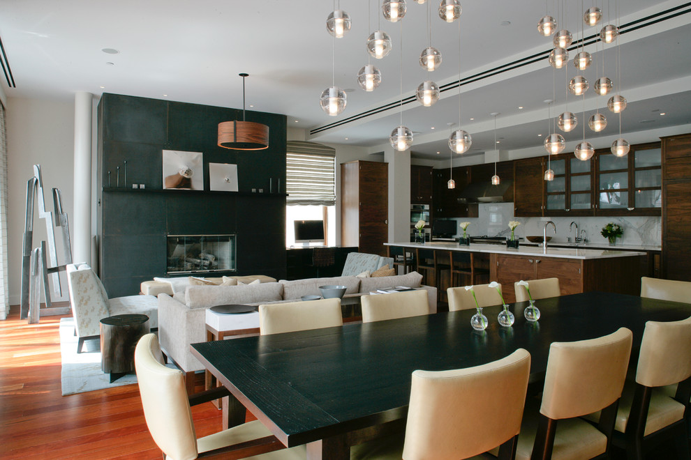 Asm Upholstery for Contemporary Dining Room with Dining Table