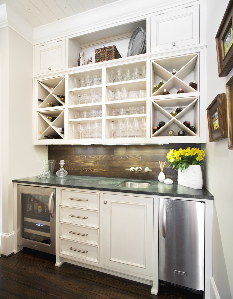 Avanti Furniture for Traditional Home Bar with Wet Bar