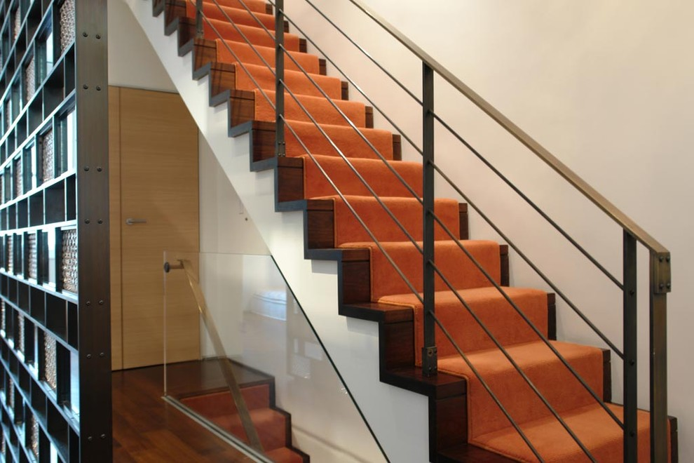 Axis Mundi for Contemporary Staircase with Minimalist