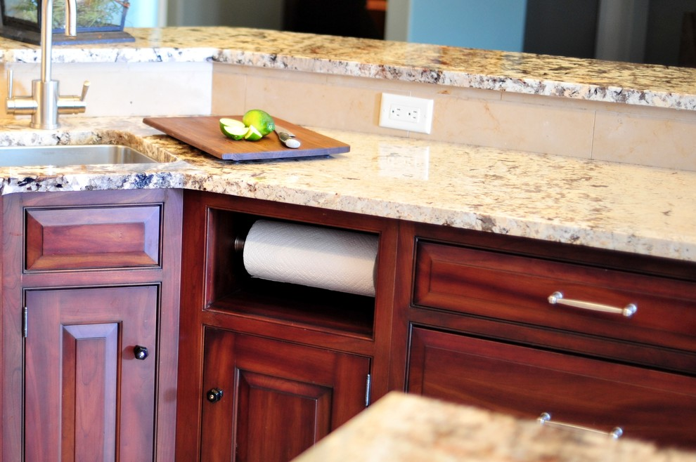 Backpage Wichita Kansas for Transitional Kitchen with Cherry Cabinets
