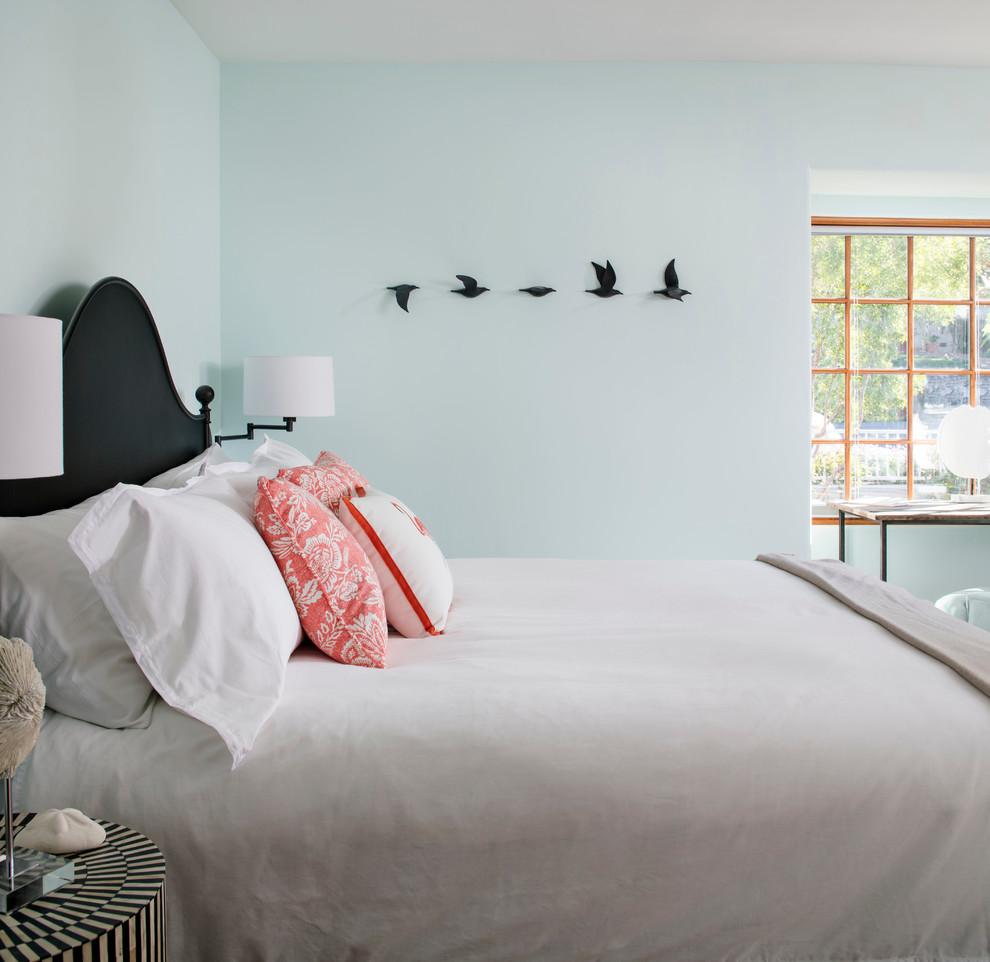 Beach Cottages San Diego for Beach Style Bedroom with Coastal Decor