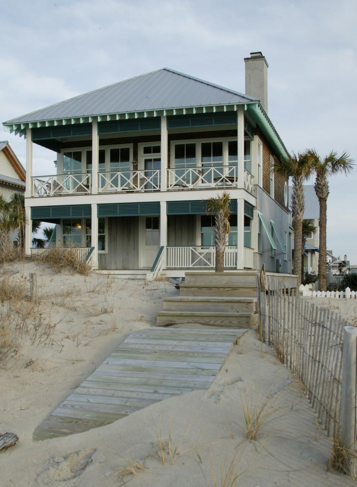 Beach House Hermosa Beach for Beach Style Exterior with Boardwalk
