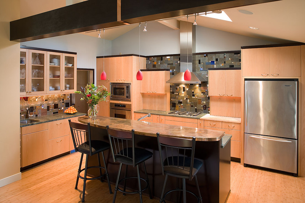 Best by Broan for Contemporary Kitchen with Ceiling Lighting