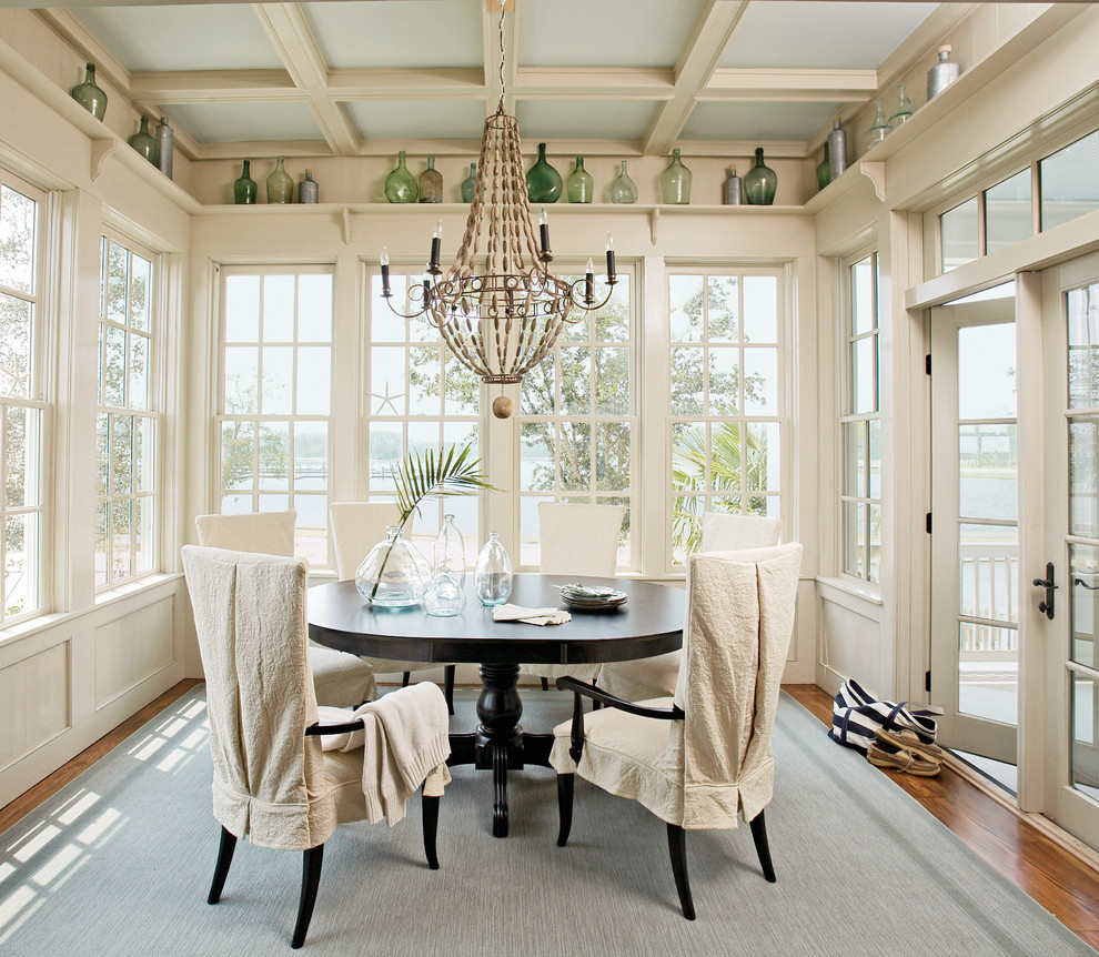 Bobo Intriguing Objects for Traditional Dining Room with Coffered Ceiling