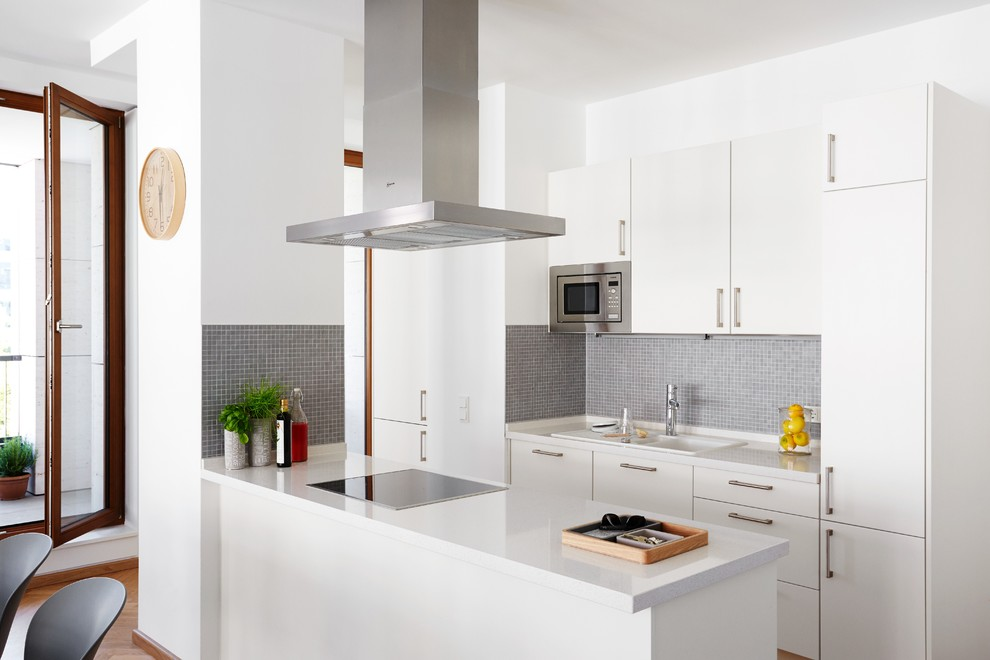 Boconcept for Contemporary Kitchen with White Kitchen