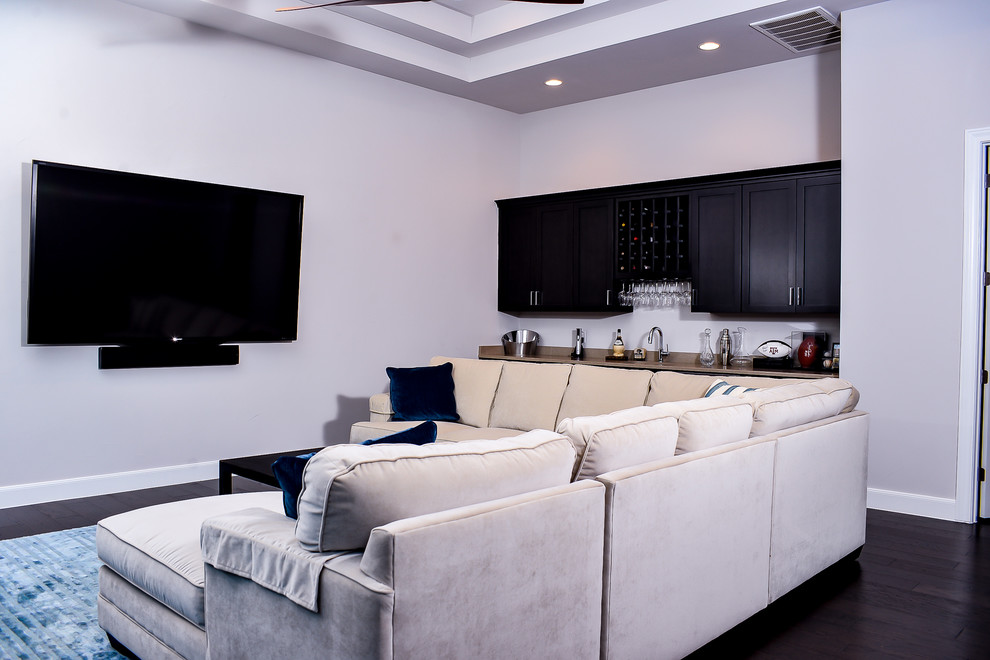 Boerne Theater for Transitional Home Theater with Transitional