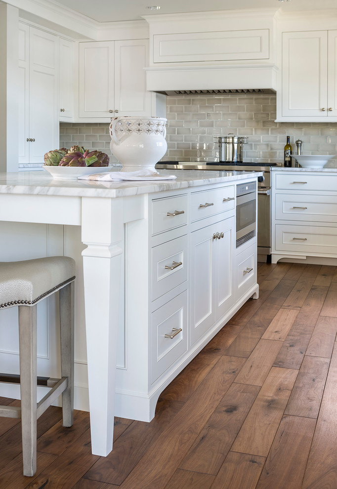 Bowditch Ford for Traditional Kitchen with Open