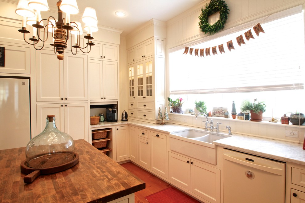 Bowling Alley Dallas for Traditional Kitchen with Apron Sink