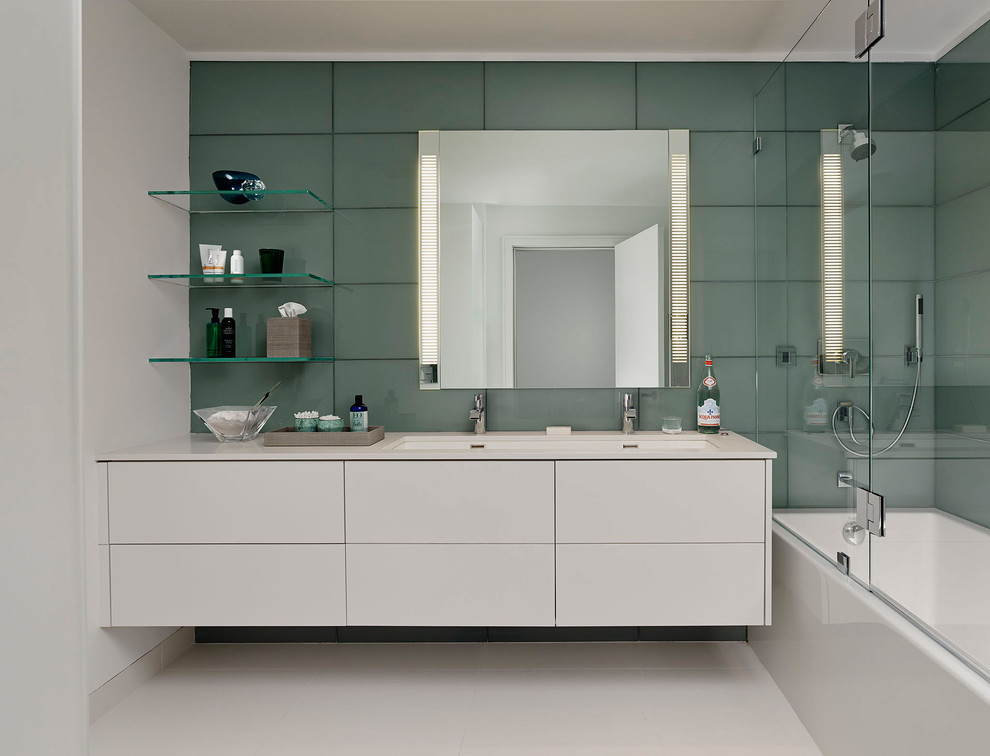 Boyd Lighting for Modern Kitchen with Double Faucets