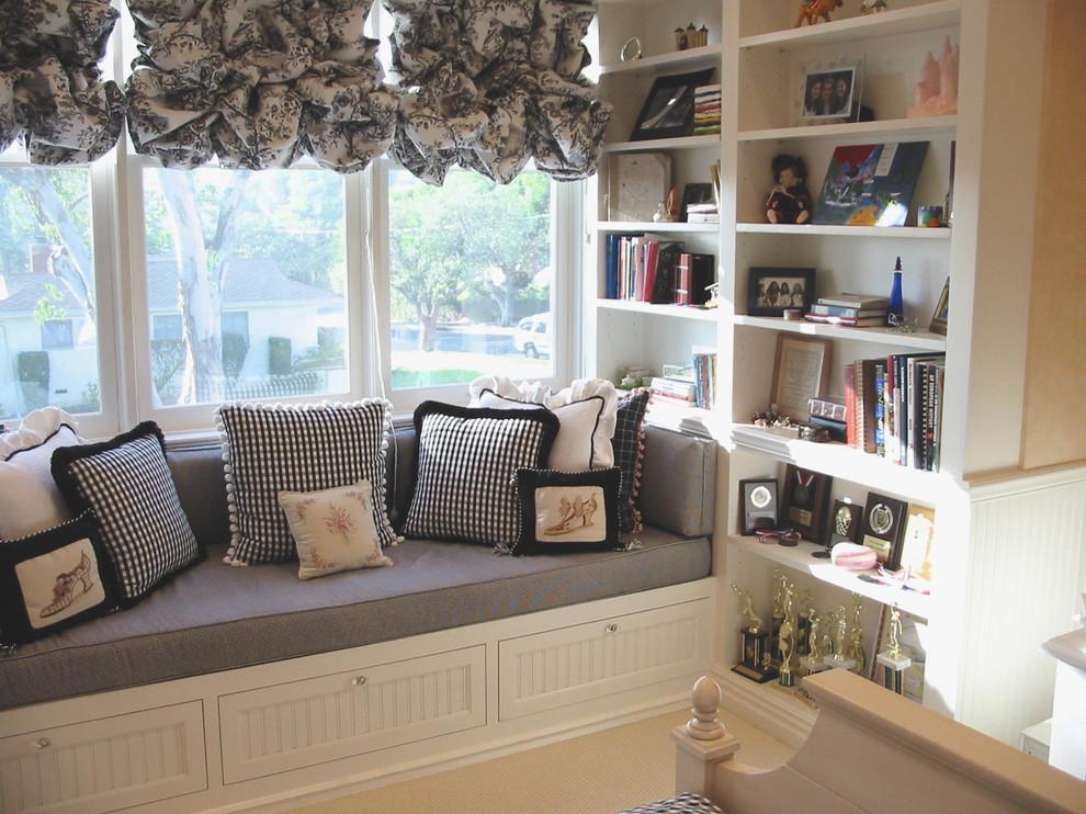 Brundage Bone for Traditional Bedroom with Nook