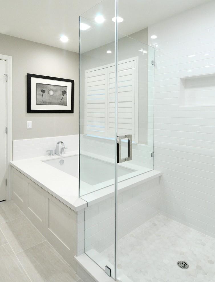 Btb Fitness for Contemporary Bathroom with Frameless