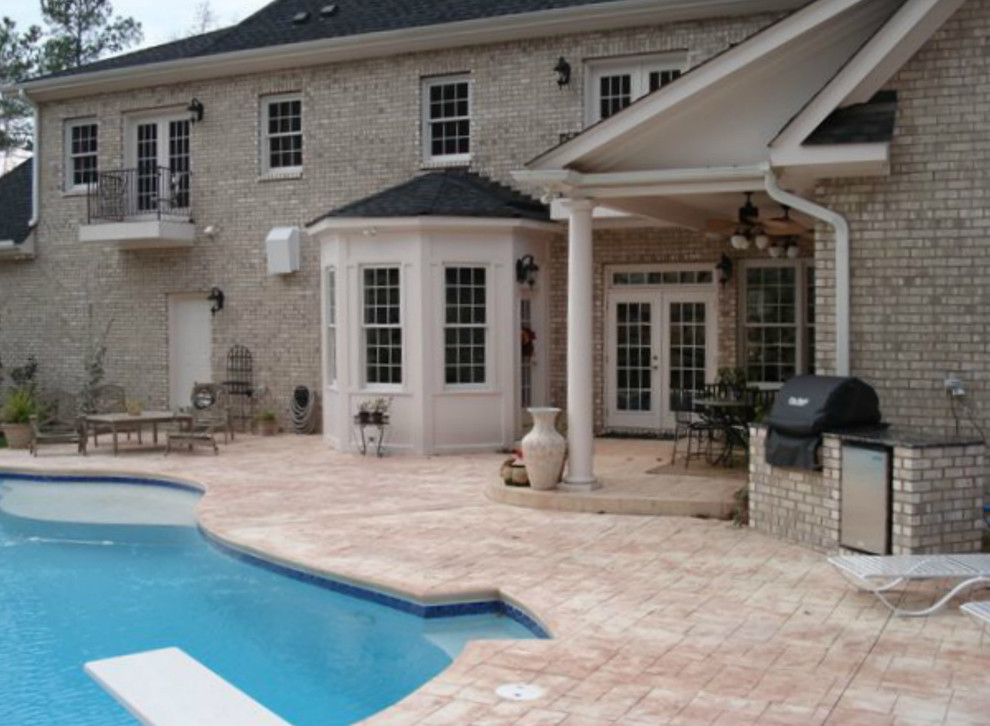 Buildex for Transitional Exterior with Brick