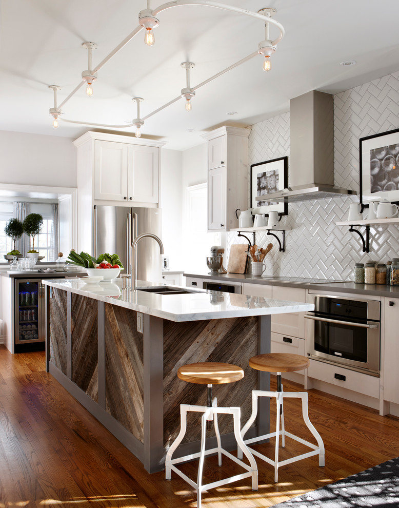 Candice Olson Kitchen for Traditional Kitchen with White Cabinetry