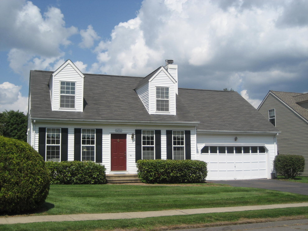 Cape Cod Floor Plans for Traditional Exterior with Lawn