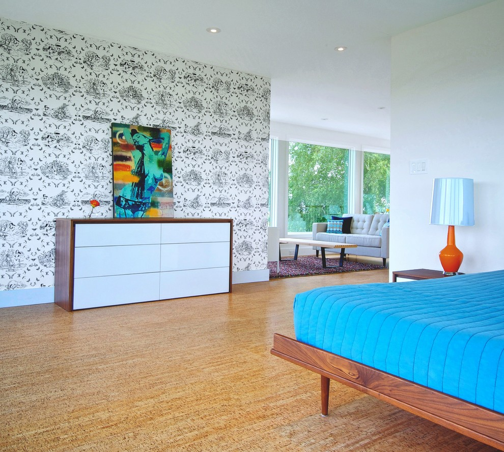 Capri Cork for Contemporary Bedroom with Bedroom Seating