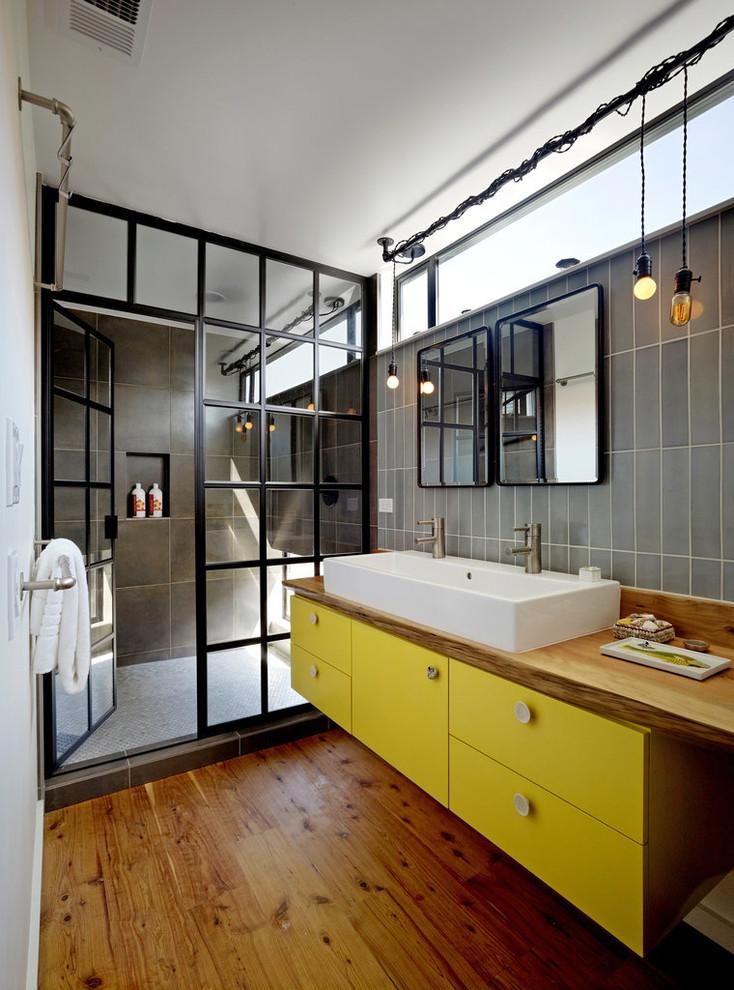 Cardinal Shower Doors for Industrial Bathroom with Walk in Shower