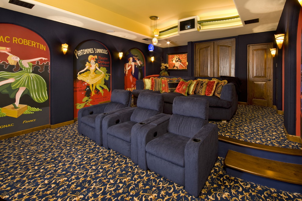 Carlisle Movie Theater for Traditional Home Theater with Inc