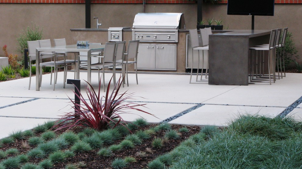 Carls Patio for Contemporary Patio with Stainless Steel Appliances