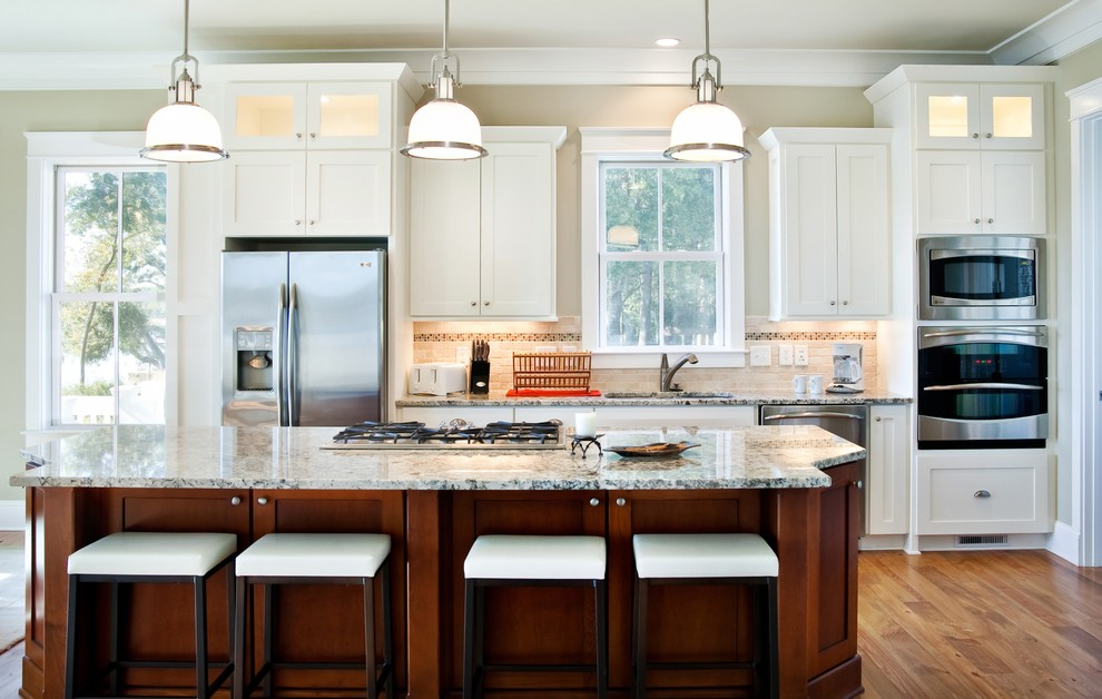 Charleston Forge for Traditional Kitchen with Granite Counters