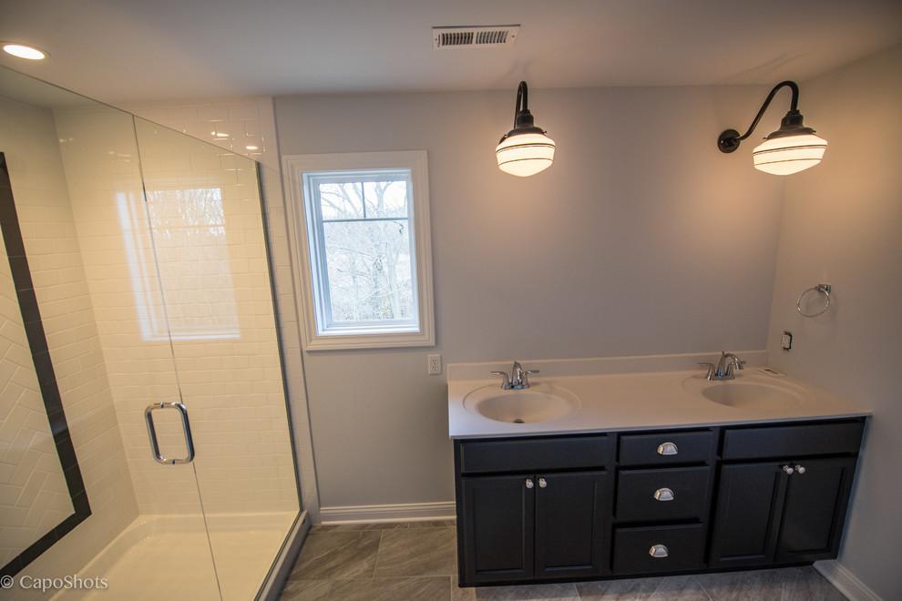 Charlie Steiner for Craftsman Bathroom with Architectural Details