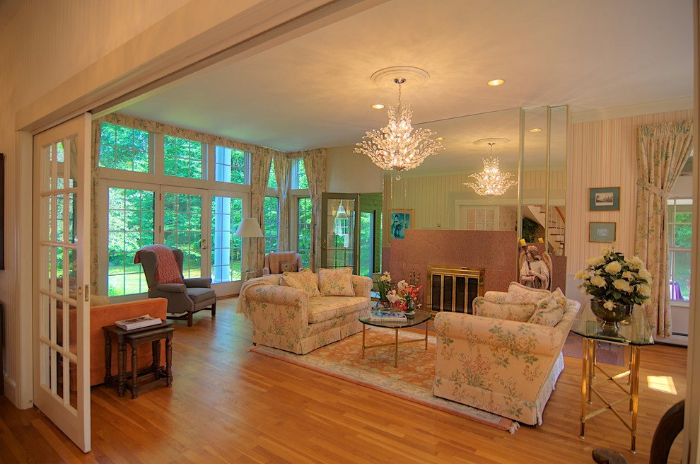 Chocorua Nh for Traditional Living Room with Roy Sanborn