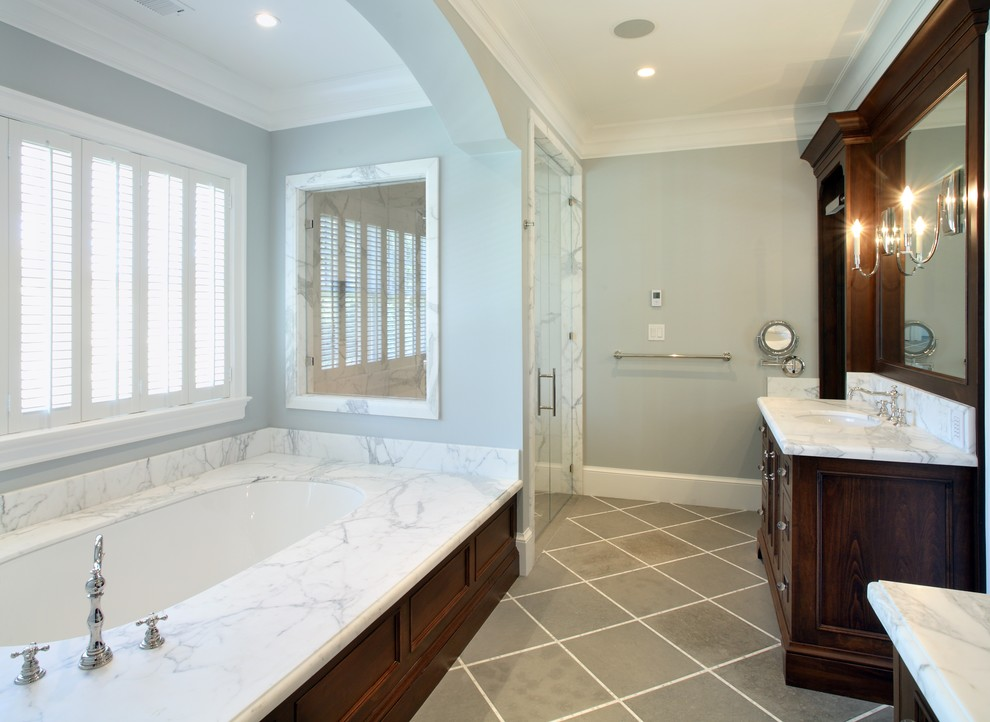 Cmc Construction Services for Traditional Bathroom with Plantation Shutters