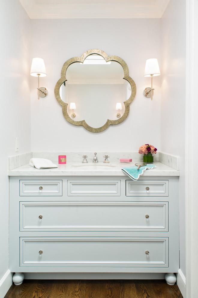 Cme Associates for Transitional Bathroom with Gold Bathroom Mirror