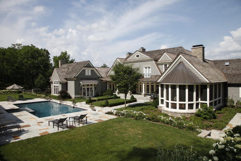 Copper Kettle Nashville for Traditional Landscape with Pool
