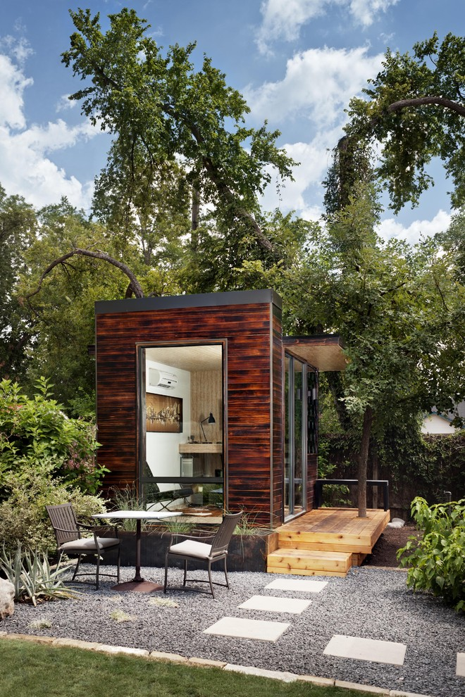 Corepower Yoga Austin for Modern Shed with Steps