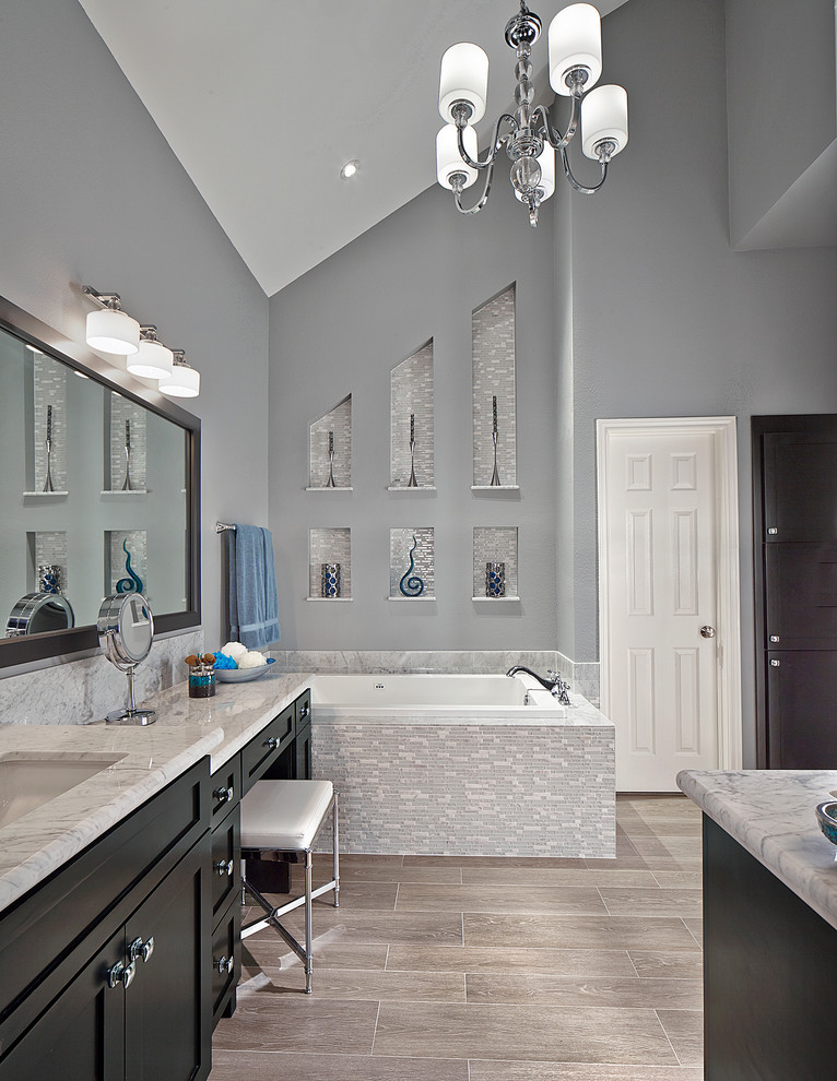 Coronado Paint for Transitional Bathroom with Design Bath
