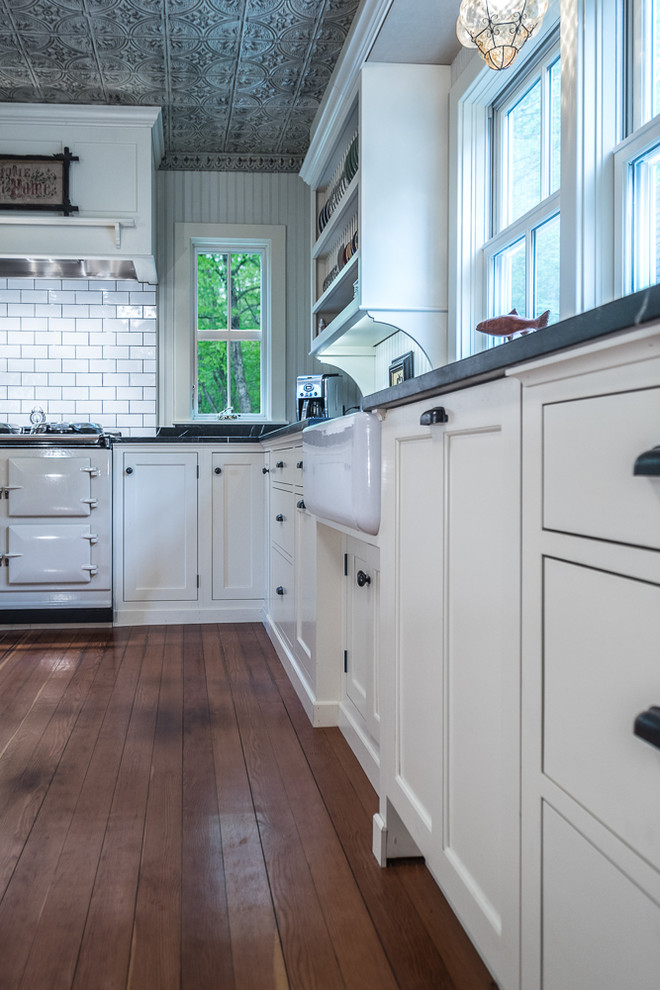 Corrados for Farmhouse Kitchen with White Kitchen