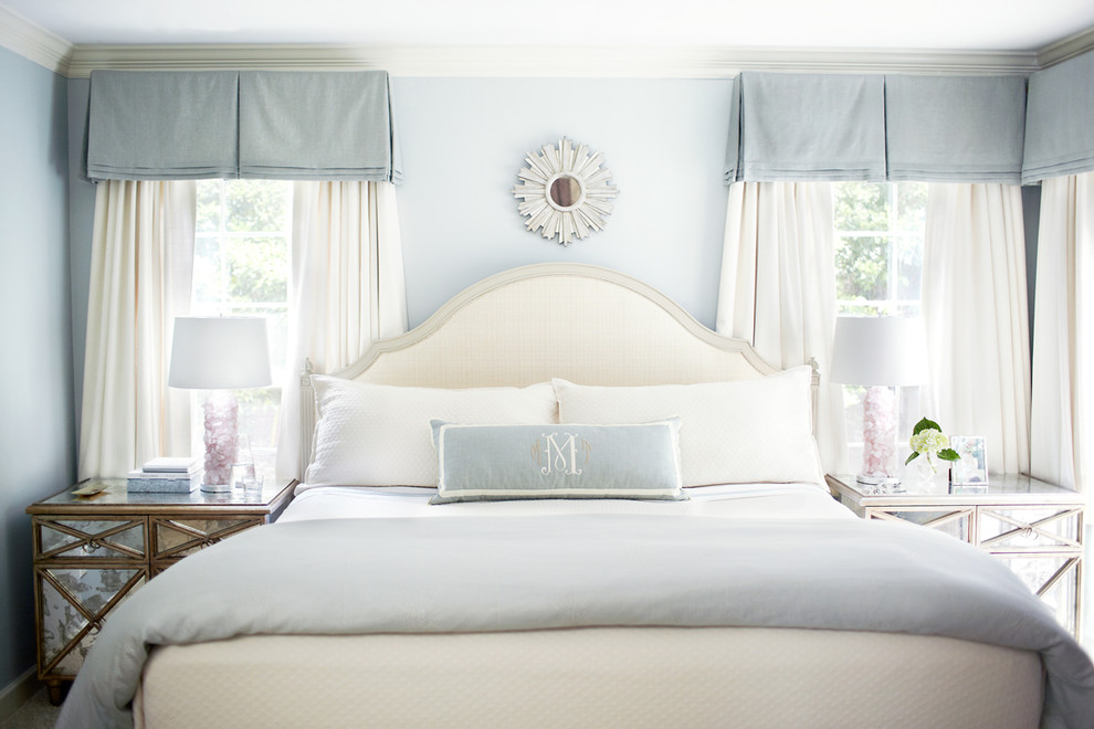 Cox Interiors for Traditional Bedroom with White Pillow