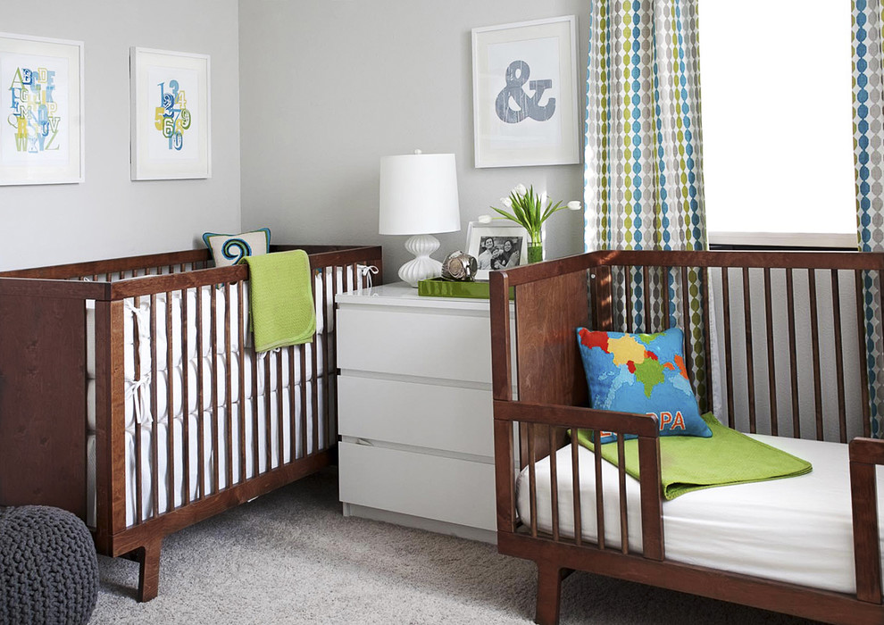 Coyuchi for Modern Nursery with Carpet