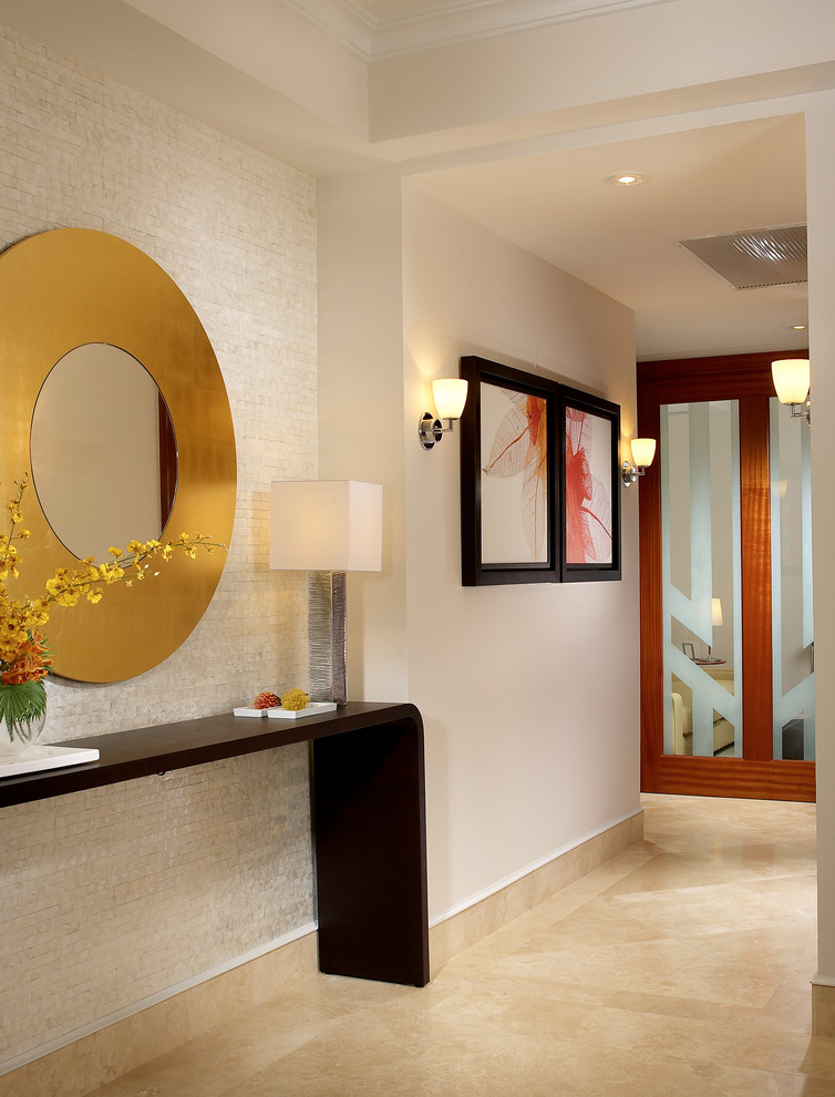 Craigslist South Florida Furniture for Modern Hall with Round Gold Mirror