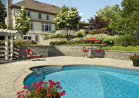 Cst Pavers for Traditional Pool with Pool Ideas