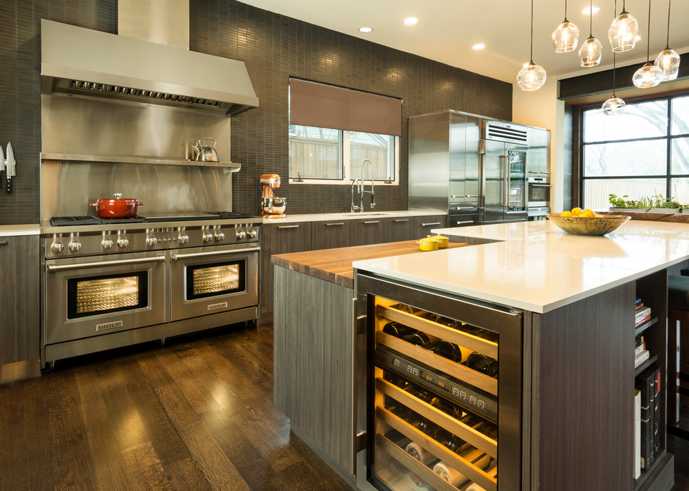 Cumtv for Contemporary Kitchen with Modern Kitchen