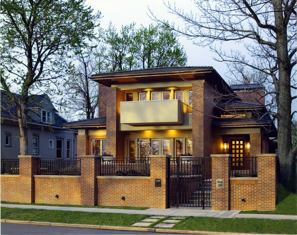 Denver Infill for Craftsman Exterior with Balcony