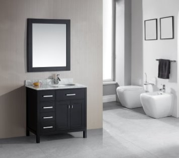 Desert Liquidators for Contemporary Bathroom with Soft Close Double Door