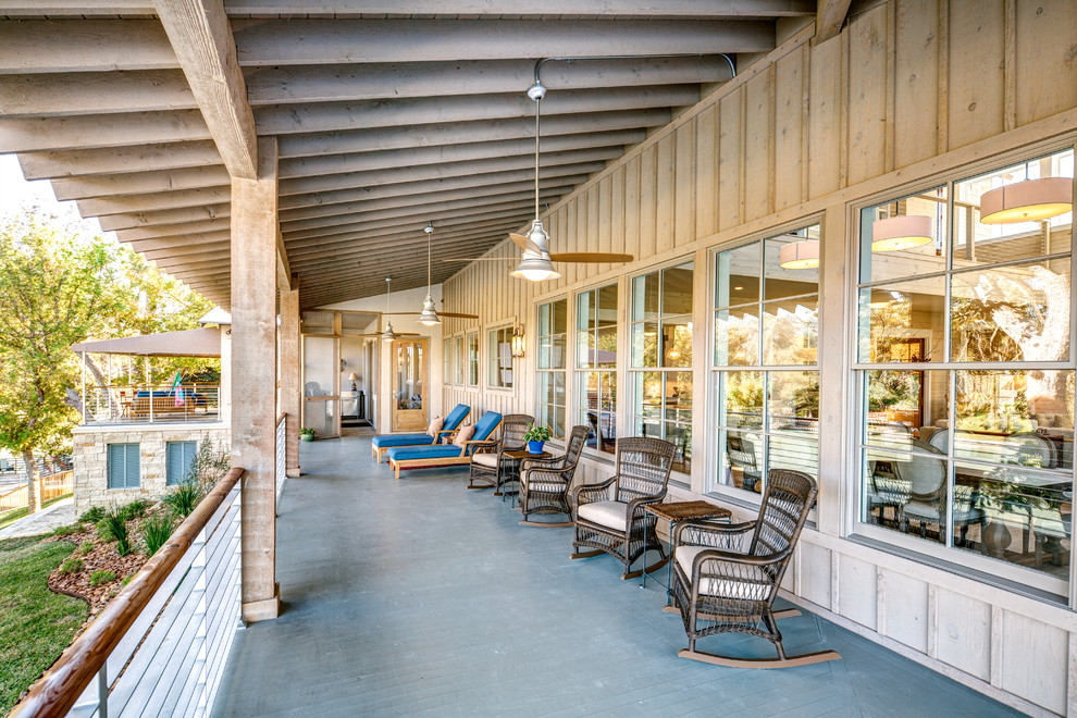 Directv Rio for Farmhouse Porch with Deck Chairs