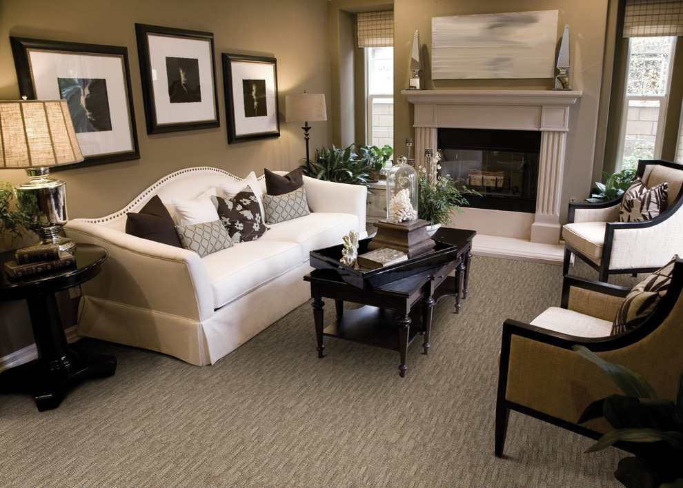 Dixie Carpet for Contemporary Living Room with Carpets Carpet Tiles
