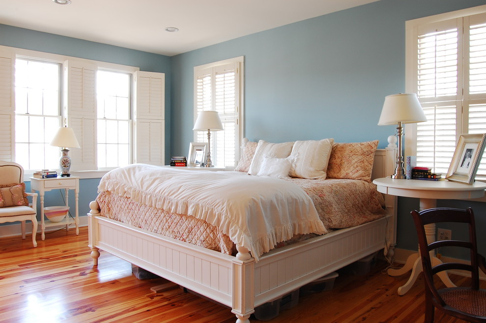 Dixie Salvage for Rustic Bedroom with Cozy