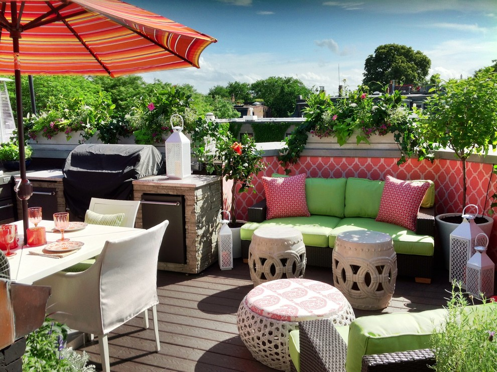 Dolce Vita Boston for Contemporary Deck with Roof Deck